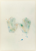 Prints, JIM DINE (American, b. 1935). Hands, 1970-76. Color lithograph. 31-1/4 x 22-1/4 inches (79.4 x 56.5 cm) (sheet). Ed. 7/1...