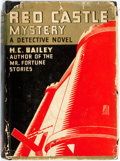 Books:Mystery & Detective Fiction, H.C. Bailey. The Red Castle Mystery. Garden City: Doubleday, Doran, 1932. Publisher's black cloth and original dust ...