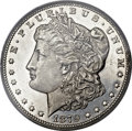 Morgan Dollars, 1879-CC $1 -- Cleaning -- PCGS Genuine. Unc Details....