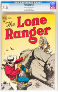 Golden Age (1938-1955):Western, Lone Ranger #7 (Dell, 1949) CGC VF- 7.5 Cream to off-whitepages....