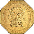 Territorial Gold, 1852 $50 Assay Office Fifty Dollar, 900 Thous. AU50 NGC. K-14, High R.5....