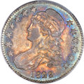 Bust Half Dollars, 1829 50C Small Letters, O-107, R.3, MS64+ PCGS. CAC....
