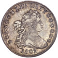 Early Dollars, 1802/1 $1 Wide Date, B-2, BB-233, R.4, XF45 NGC. CAC....