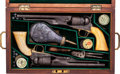 Handguns:Single Action Revolver, Cased Pair of Colt Model 1860 Army Percussion Revolvers.... (Total: 2 Items)