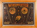 "Advertising:Signs, Rare Winchester Single ""W"" Model 1890 Cartridge Board,..."