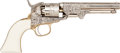 Handguns:Single Action Revolver, Non Working Copy of an Wm Cody Engraved Colt Model 1849 Pocket Revolver....