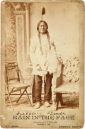 "American Indian Art:Photographs, Sitting Bull: An 1885-Dated ""Error"" Cabinet Photograph by D. F.Barry. ..."