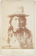 American Indian Art:Photographs, Sitting Bull: One of his Best Photographic Images....