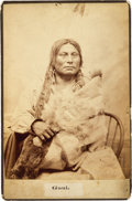 American Indian Art:Photographs, Chief Gaul [sic]: An Uncommon and Striking Early D. F. Barry Cabinet Photograph....