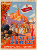 "Movie Posters:Fantasy, The Thief of Bagdad (United Artists, 1946). First Post-War ReleaseFrench Grande (46.5"" X 63"").. ..."