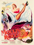 "Movie Posters:Drama, Moulin Rouge (Paris Film Production, 1952). French Grande (47"" X63"").. ..."