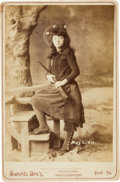 Photography:Cabinet Photos, May Lillie: Cabinet Card....