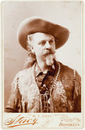 "Photography:Cabinet Photos, William F. (""Buffalo Bill"") Cody: Cabinet Card...."