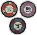Miscellaneous:Gaming Collectibles, Lake Tahoe and Reno: Trio of Harrah's Casino Chips.... (Total: 3Items)
