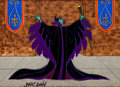 Animation Art:Production Cel, Sleeping Beauty Maleficent Color Model Cel Signed by MarcDavis (Walt Disney, 1959)....