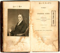 Books:Americana & American History, [Fisher Ames]. Works of Fisher Ames. Boston: T.B. Wait,1809. Contemporary full calf, with a repaired front hinge. D...