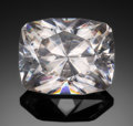 Gems:Faceted, RARE GEMSTONE: CERUSSITE - 46.33 CT. . Tsumeb, Namibia. ...