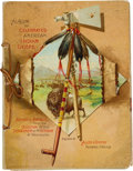 Miscellaneous:Trading Cards, Allen & Ginter Tobacco Album Featuring Cards of CelebratedAmerican Indian Chiefs. ...