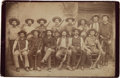 Photography:Cabinet Photos, J. Walter Durbin: Iconic Original 1888 Cabinet Photo of TexasRangers' Famed Company D....