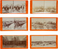 Photography:Stereo Cards, Butte, Montana, Explosion of January 15, 1895: A Rare Group of Stereoviews Showing the Devastation.... (Total: 10 Items)