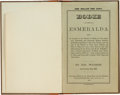 Books:Non-fiction, Bodie and Esmeralda, California: An Important 1878 Volume by Joseph Wasson, San Francisco....