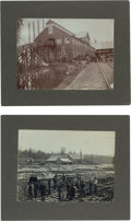 Western Expansion:Goldrush, Two Exceptional Gold Rush Era Original Photos.... (Total: 2 Items)