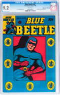Golden Age (1938-1955):Superhero, Blue Beetle #42 Mile High pedigree (Fox Features Syndicate, 1946) CGC NM- 9.2 White pages....