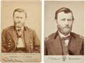 Photography:Cabinet Photos, Ulysses S. Grant: Group of Two Cabinet Cards.... (Total: 2 )