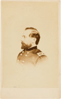 "Photography:CDVs, Union General Jesse L. Reno Carte de Visite. 2.5"" x 4"", with back mark ""J.E. McClees, 910 Chestnut Street, Philadelp..."