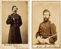 Photography:CDVs, Union General Robert S. Foster Two Cartes de Visite (One Signed).... (Total: 2 )