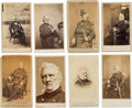 Photography:CDVs, General Winfield Scott: Collection of Eight Cartes de Visite. ... (Total: 8 )