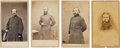 Photography:CDVs, Four Union General Cartes de Visite: John McClain, Henry Prince, Nelson Taylor, and Henry Terry.... (Total: 4 )