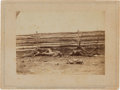 Photography:Cabinet Photos, Brady Gallery Card of Dead Soldiers at Antietam....