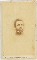 Photography:CDVs, Confederate Brigadier General Richard Brooke Garnett: Killed in Action During Pickett's Charge Carte de Visite....
