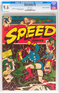 Golden Age (1938-1955):Superhero, Speed Comics #30 Mile High pedigree (Harvey, 1944) CGC NM+ 9.6 White pages....