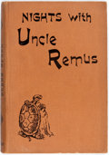 Books:Children's Books, Joel Chandler Harris. Nights with Uncle Remus. London:George Routledge, [n.d., ca. 1900]. Early British edition. Pu...
