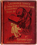 Books:Children's Books, Edward Lear. Laughable Lyrics: A Fourth Book of Nonsense Poems,Songs, Botany, Music, &c. London: Robert John Bush, ...