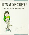 Books:Children's Books, John Burningham. SIGNED. It's A Secret! [London: WalkerBooks, 2009]. First edition, first printing. Signed by the...