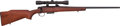 Long Guns:Bolt Action, Remington Model 788 Bolt Action Rifle with Telescopic sight....