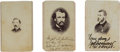 Photography:CDVs, Nice Group of Civil War Images,... (Total: 6 Items)