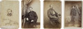 Photography:CDVs, Group of eight Civil War cartes de visites of Union Surgeons.... (Total: 8 Items)