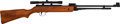 Long Guns:Lever Action, Chinese Lever Action Air Rifle with Telescopic Sight....