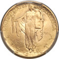 Commemorative Gold, 1926 $2 1/2 Sesquicentennial MS66 PCGS....