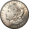 Proof Morgan Dollars, 1921-S $1 SP64 PCGS Secure. CAC....