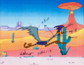 Animation Art:Color Model, Road Runner Color Model Cel (Warner Brothers, 1970s)....