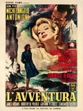 "Movie Posters:Drama, L'Avventura (Athos, 1961). French Grande (47"" X 63"").. ..."