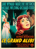"Movie Posters:Hitchcock, Stage Fright (Warner Brothers, 1950). French Grande (45.5"" X62.25"").. ..."