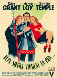 "The Bachelor and the Bobby Soxer (RKO, 1947). French Grande (45"" X 62"")"
