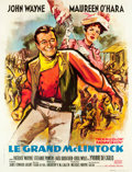 "Movie Posters:Western, McLintock! (United Artists, 1963). French Grande (46.5"" X 61"")....."