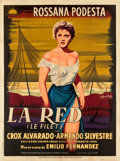 """Movie Posters:Foreign, La Red (Lux, 1953). French Grande (47"""" X 63"""").. ..."""